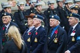 Remembrance Sunday at the Cenotaph 2015: Group C10, RAF Habbaniya Association. Cenotaph, Whitehall, London SW1, London, Greater London, United Kingdom, on 08 November 2015 at 11:48, image #480