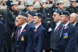 Remembrance Sunday at the Cenotaph 2015: Group C12, Royal Air Force Mountain Rescue Association. Cenotaph, Whitehall, London SW1, London, Greater London, United Kingdom, on 08 November 2015 at 11:49, image #495