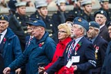 Remembrance Sunday at the Cenotaph 2015: Group C13, Units of the Far East Air Force (New name for 2015, contingents combined). Cenotaph, Whitehall, London SW1, London, Greater London, United Kingdom, on 08 November 2015 at 11:49, image #497