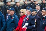 Remembrance Sunday at the Cenotaph 2015: Group C13, Units of the Far East Air Force (New name for 2015, contingents combined). Cenotaph, Whitehall, London SW1, London, Greater London, United Kingdom, on 08 November 2015 at 11:49, image #498
