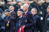 Remembrance Sunday at the Cenotaph 2015: Group C13, Units of the Far East Air Force (New name for 2015, contingents combined). Cenotaph, Whitehall, London SW1, London, Greater London, United Kingdom, on 08 November 2015 at 11:49, image #499