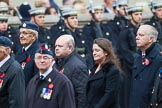 Remembrance Sunday at the Cenotaph 2015: Group C13, Units of the Far East Air Force (New name for 2015, contingents combined). Cenotaph, Whitehall, London SW1, London, Greater London, United Kingdom, on 08 November 2015 at 11:49, image #501