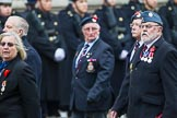 Remembrance Sunday at the Cenotaph 2015: Group C14, Royal Air Force Yatesbury Association. Cenotaph, Whitehall, London SW1, London, Greater London, United Kingdom, on 08 November 2015 at 11:49, image #502