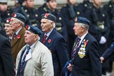 Remembrance Sunday at the Cenotaph 2015: Group C14, Royal Air Force Yatesbury Association. Cenotaph, Whitehall, London SW1, London, Greater London, United Kingdom, on 08 November 2015 at 11:49, image #505