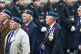 Remembrance Sunday at the Cenotaph 2015: Group C14, Royal Air Force Yatesbury Association. Cenotaph, Whitehall, London SW1, London, Greater London, United Kingdom, on 08 November 2015 at 11:49, image #506