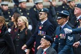 Remembrance Sunday at the Cenotaph 2015: Group C16, RAFSE(s) Assoc (New for 2015). Cenotaph, Whitehall, London SW1, London, Greater London, United Kingdom, on 08 November 2015 at 11:49, image #514