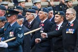 Remembrance Sunday at the Cenotaph 2015: Group C16, RAFSE(s) Assoc (New for 2015). Cenotaph, Whitehall, London SW1, London, Greater London, United Kingdom, on 08 November 2015 at 11:49, image #516