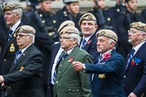 Remembrance Sunday at the Cenotaph 2015: Group C18, Royal Air Force Masirah & Salalah Veterans Association (New for 2015). Cenotaph, Whitehall, London SW1, London, Greater London, United Kingdom, on 08 November 2015 at 11:49, image #529