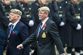 Remembrance Sunday at the Cenotaph 2015: Group C18, Royal Air Force Masirah & Salalah Veterans Association (New for 2015). Cenotaph, Whitehall, London SW1, London, Greater London, United Kingdom, on 08 November 2015 at 11:49, image #530
