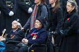 Remembrance Sunday at the Cenotaph 2015: Group C19, WAAF/WRAF/RAF(W). Cenotaph, Whitehall, London SW1, London, Greater London, United Kingdom, on 08 November 2015 at 11:50, image #536