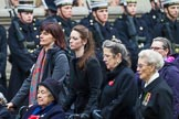 Remembrance Sunday at the Cenotaph 2015: Group C19, WAAF/WRAF/RAF(W). Cenotaph, Whitehall, London SW1, London, Greater London, United Kingdom, on 08 November 2015 at 11:50, image #537