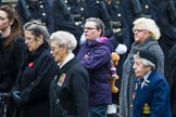 Remembrance Sunday at the Cenotaph 2015: Group C19, WAAF/WRAF/RAF(W). Cenotaph, Whitehall, London SW1, London, Greater London, United Kingdom, on 08 November 2015 at 11:50, image #538