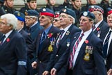 Remembrance Sunday at the Cenotaph 2015: Group C22, Federation of Royal Air Force Apprentice & Boy Entrant Associations. Cenotaph, Whitehall, London SW1, London, Greater London, United Kingdom, on 08 November 2015 at 11:50, image #551