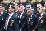 Remembrance Sunday at the Cenotaph 2015: Group C22, Federation of Royal Air Force Apprentice & Boy Entrant Associations. Cenotaph, Whitehall, London SW1, London, Greater London, United Kingdom, on 08 November 2015 at 11:50, image #552