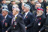 Remembrance Sunday at the Cenotaph 2015: Group C22, Federation of Royal Air Force Apprentice & Boy Entrant Associations. Cenotaph, Whitehall, London SW1, London, Greater London, United Kingdom, on 08 November 2015 at 11:50, image #553
