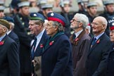 Remembrance Sunday at the Cenotaph 2015: Group C23, Royal Air Force Air Loadmasters Association. Cenotaph, Whitehall, London SW1, London, Greater London, United Kingdom, on 08 November 2015 at 11:50, image #554
