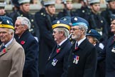 Remembrance Sunday at the Cenotaph 2015: Group C23, Royal Air Force Air Loadmasters Association. Cenotaph, Whitehall, London SW1, London, Greater London, United Kingdom, on 08 November 2015 at 11:50, image #557