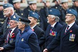 Remembrance Sunday at the Cenotaph 2015: Group C23, Royal Air Force Air Loadmasters Association. Cenotaph, Whitehall, London SW1, London, Greater London, United Kingdom, on 08 November 2015 at 11:50, image #560