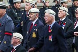 Remembrance Sunday at the Cenotaph 2015: Group C24, Royal Air Force Police Association. Cenotaph, Whitehall, London SW1, London, Greater London, United Kingdom, on 08 November 2015 at 11:50, image #563