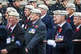 Remembrance Sunday at the Cenotaph 2015: Group C24, Royal Air Force Police Association. Cenotaph, Whitehall, London SW1, London, Greater London, United Kingdom, on 08 November 2015 at 11:50, image #565