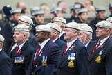 Remembrance Sunday at the Cenotaph 2015: Group C24, Royal Air Force Police Association. Cenotaph, Whitehall, London SW1, London, Greater London, United Kingdom, on 08 November 2015 at 11:50, image #567