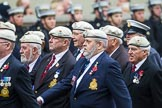 Remembrance Sunday at the Cenotaph 2015: Group C24, Royal Air Force Police Association. Cenotaph, Whitehall, London SW1, London, Greater London, United Kingdom, on 08 November 2015 at 11:50, image #568