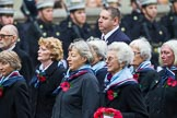 Remembrance Sunday at the Cenotaph 2015: Group C25, Princess Mary's Royal Air Force Nursing Service Association. Cenotaph, Whitehall, London SW1, London, Greater London, United Kingdom, on 08 November 2015 at 11:50, image #570