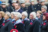 Remembrance Sunday at the Cenotaph 2015: Group C25, Princess Mary's Royal Air Force Nursing Service Association. Cenotaph, Whitehall, London SW1, London, Greater London, United Kingdom, on 08 November 2015 at 11:50, image #571