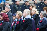 Remembrance Sunday at the Cenotaph 2015: Group C25, Princess Mary's Royal Air Force Nursing Service Association. Cenotaph, Whitehall, London SW1, London, Greater London, United Kingdom, on 08 November 2015 at 11:51, image #573