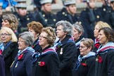 Remembrance Sunday at the Cenotaph 2015: Group C25, Princess Mary's Royal Air Force Nursing Service Association. Cenotaph, Whitehall, London SW1, London, Greater London, United Kingdom, on 08 November 2015 at 11:51, image #574