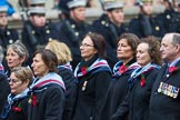 Remembrance Sunday at the Cenotaph 2015: Group C25, Princess Mary's Royal Air Force Nursing Service Association. Cenotaph, Whitehall, London SW1, London, Greater London, United Kingdom, on 08 November 2015 at 11:51, image #575
