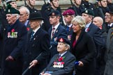 Remembrance Sunday at the Cenotaph 2015: Group D1, Not Forgotten Association. Cenotaph, Whitehall, London SW1, London, Greater London, United Kingdom, on 08 November 2015 at 11:51, image #579