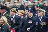 Remembrance Sunday at the Cenotaph 2015: Group D1, Not Forgotten Association. Cenotaph, Whitehall, London SW1, London, Greater London, United Kingdom, on 08 November 2015 at 11:51, image #580