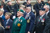 Remembrance Sunday at the Cenotaph 2015: Group D1, Not Forgotten Association. Cenotaph, Whitehall, London SW1, London, Greater London, United Kingdom, on 08 November 2015 at 11:51, image #582