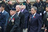 Remembrance Sunday at the Cenotaph 2015: Group D1, Not Forgotten Association. Cenotaph, Whitehall, London SW1, London, Greater London, United Kingdom, on 08 November 2015 at 11:51, image #583