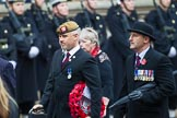 Remembrance Sunday at the Cenotaph 2015: Group D1, Not Forgotten Association. Cenotaph, Whitehall, London SW1, London, Greater London, United Kingdom, on 08 November 2015 at 11:51, image #584