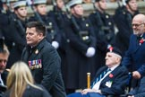 Remembrance Sunday at the Cenotaph 2015: Group D1, Not Forgotten Association. Cenotaph, Whitehall, London SW1, London, Greater London, United Kingdom, on 08 November 2015 at 11:51, image #586