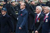 Remembrance Sunday at the Cenotaph 2015: Group D2, Stoll. Cenotaph, Whitehall, London SW1, London, Greater London, United Kingdom, on 08 November 2015 at 11:51, image #587