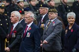 Remembrance Sunday at the Cenotaph 2015: Group D2, Stoll. Cenotaph, Whitehall, London SW1, London, Greater London, United Kingdom, on 08 November 2015 at 11:51, image #588