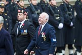 Remembrance Sunday at the Cenotaph 2015: Group D2, Stoll. Cenotaph, Whitehall, London SW1, London, Greater London, United Kingdom, on 08 November 2015 at 11:51, image #590