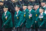 Remembrance Sunday at the Cenotaph 2015: Group D3, Ulster Defence Regiment. Cenotaph, Whitehall, London SW1, London, Greater London, United Kingdom, on 08 November 2015 at 11:51, image #591
