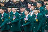 Remembrance Sunday at the Cenotaph 2015: Group D3, Ulster Defence Regiment. Cenotaph, Whitehall, London SW1, London, Greater London, United Kingdom, on 08 November 2015 at 11:51, image #592