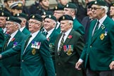 Remembrance Sunday at the Cenotaph 2015: Group D3, Ulster Defence Regiment. Cenotaph, Whitehall, London SW1, London, Greater London, United Kingdom, on 08 November 2015 at 11:51, image #597