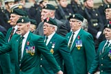 Remembrance Sunday at the Cenotaph 2015: Group D3, Ulster Defence Regiment. Cenotaph, Whitehall, London SW1, London, Greater London, United Kingdom, on 08 November 2015 at 11:51, image #599