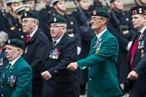 Remembrance Sunday at the Cenotaph 2015: Group D3, Ulster Defence Regiment. Cenotaph, Whitehall, London SW1, London, Greater London, United Kingdom, on 08 November 2015 at 11:51, image #601