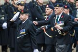Remembrance Sunday at the Cenotaph 2015: Group D4, Army Dog Unit Northern Ireland Association. Cenotaph, Whitehall, London SW1, London, Greater London, United Kingdom, on 08 November 2015 at 11:52, image #603