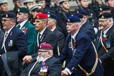 Remembrance Sunday at the Cenotaph 2015: Group D4, Army Dog Unit Northern Ireland Association. Cenotaph, Whitehall, London SW1, London, Greater London, United Kingdom, on 08 November 2015 at 11:52, image #606