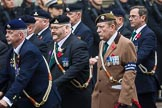 Remembrance Sunday at the Cenotaph 2015: Group D4, Army Dog Unit Northern Ireland Association. Cenotaph, Whitehall, London SW1, London, Greater London, United Kingdom, on 08 November 2015 at 11:52, image #607
