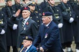 Remembrance Sunday at the Cenotaph 2015: Group D6, Northern Ireland Veterans' Association. Cenotaph, Whitehall, London SW1, London, Greater London, United Kingdom, on 08 November 2015 at 11:52, image #619