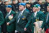 Remembrance Sunday at the Cenotaph 2015: Group D6, Northern Ireland Veterans' Association. Cenotaph, Whitehall, London SW1, London, Greater London, United Kingdom, on 08 November 2015 at 11:52, image #622